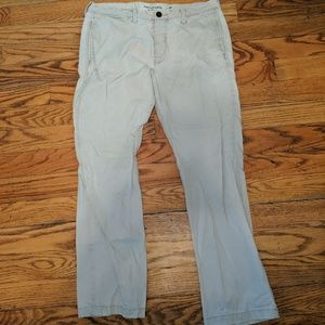 Abercrombie and Fitch 34x32 khakis